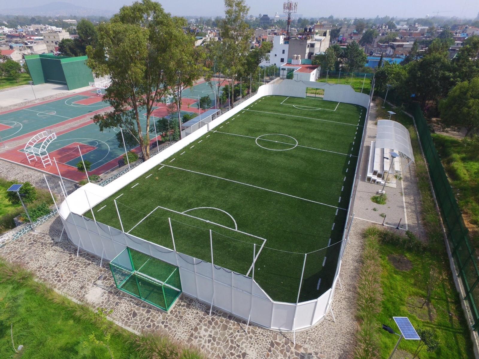 Cancha de Futbol Rapido Huayamilpas